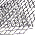 Expanded sheet metal mesh panels