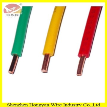 pvc insulation BV wire white copper