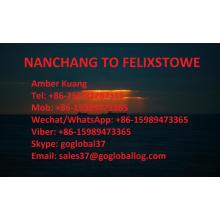 Jiangxi Nanchang Sea Freight to Britain Felixstowe
