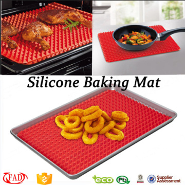 BPA Free Eco-friendly Silicone pyramid baking mat