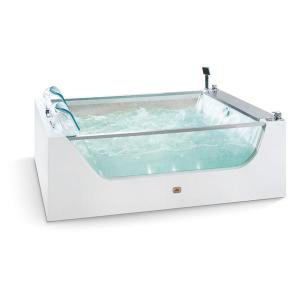 Double Acrylic / Glass Massage Indoor Tub