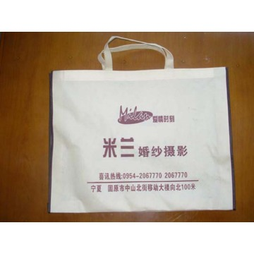 Custom non-woven hand bag photo studio bag printing
