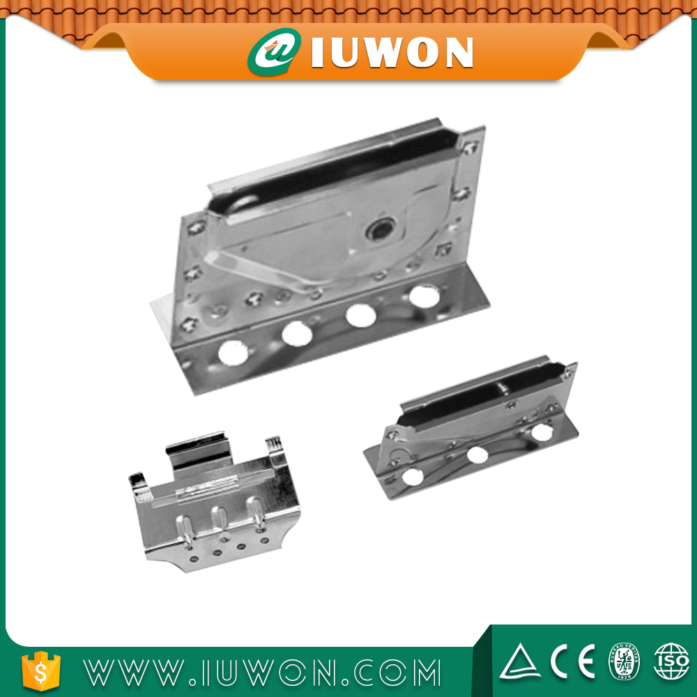CNC Sheet Metal Making Parts For Roof Clips