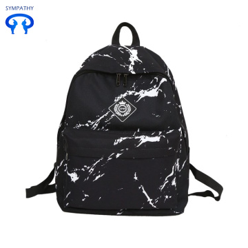 Oxford spinning leisure backpack student bag