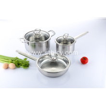 3 Piece Professional Stainless Steel Kitchenware Set