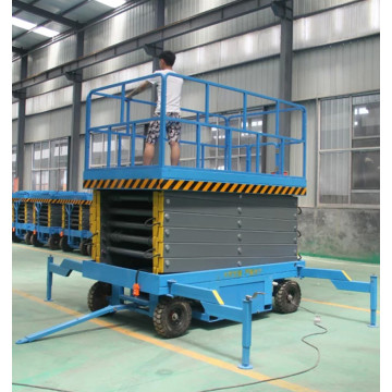 2.0t 14m Mobile Elevating Work Scissor Lift Platform