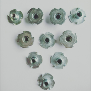 Full thread Carbon steel Furniture Tee nuts