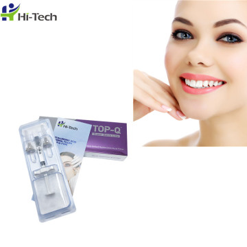 Hot selling 2ml facial filler hyaluronic acid dermal fillers Injections for forehead/mouth lines