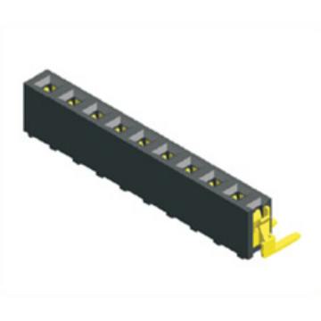 2.54mm Female Header Single Row Angle Type