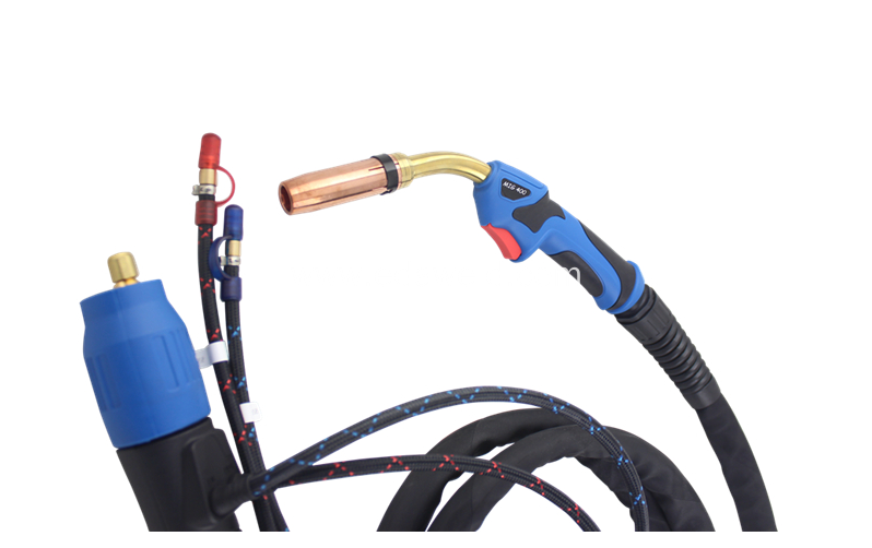 MIG 400/401D welding torch water cooled