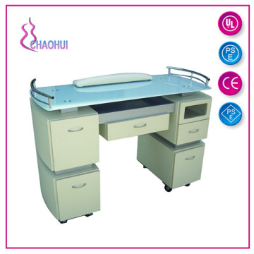 Best Quality for Wood Nail Tables modern manicure table salon nail table export to Portugal Factories