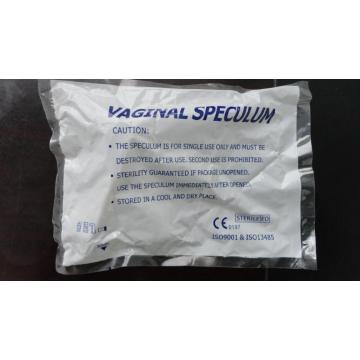 CE Sterile Disposable Vaginal Speculum With Side Screw