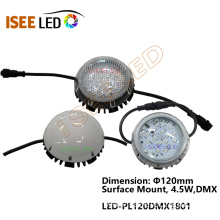 Round 120mm DMX Pixel Lights RGB LED Dot