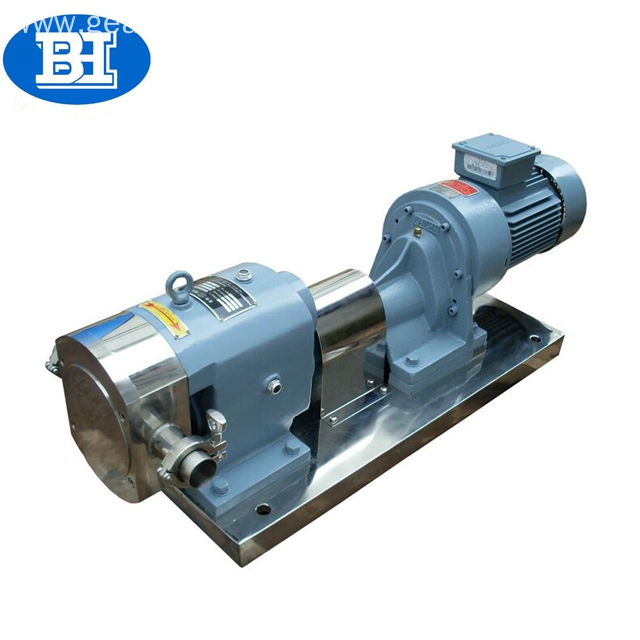 Stainless steel lobe pumps 3rp viscous liquid molasse rotary lobe pump