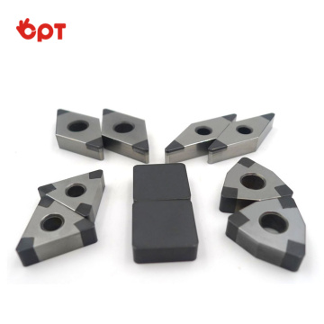 Factory supply CBN milling inserts hard CBN tips