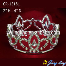 Wholesale Cheap Rhinestone Full Round Boy Crowns