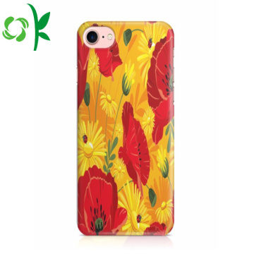 Full-cover TPU Phone Shell Custom Flower Cell Cover