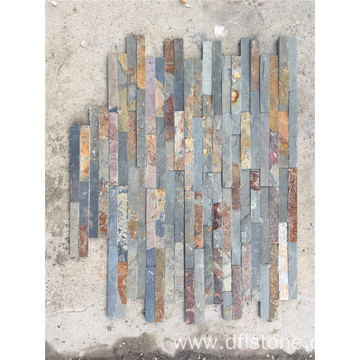 Rusty thinner interlock flagstone