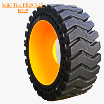 Solid Skid Steer Tire With Rims FB29.5-25 R709