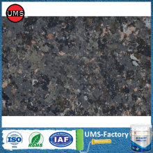 Faux black marble paint effect colors