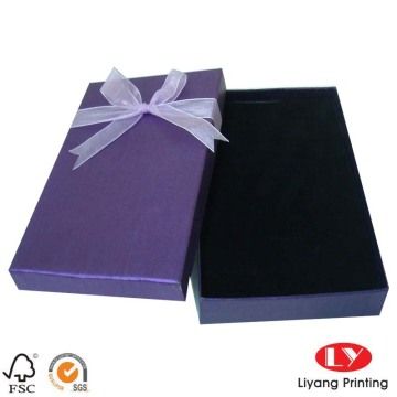 Custom made cardboard packaging paper gift box