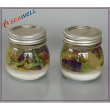 Season Fragrance Glass Jar LED Gel Candle