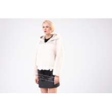 White Fur Jacket for Grils