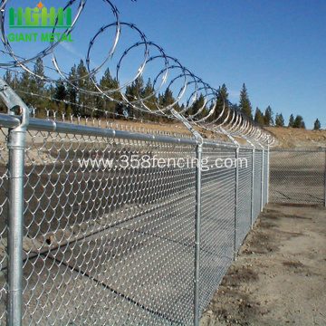 High Quality Chain Link Fence For Commercial
