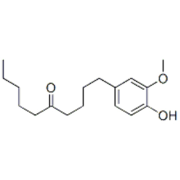 1-(4-hydroxy-3-methoxyphenyl)decan-5-one  CAS 27113-22-0