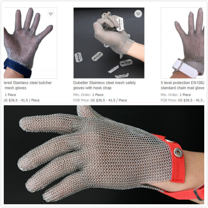 Stainless Steel Protective Gloves