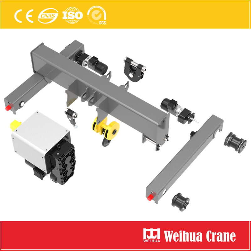 Double Rail Crab Exploded View