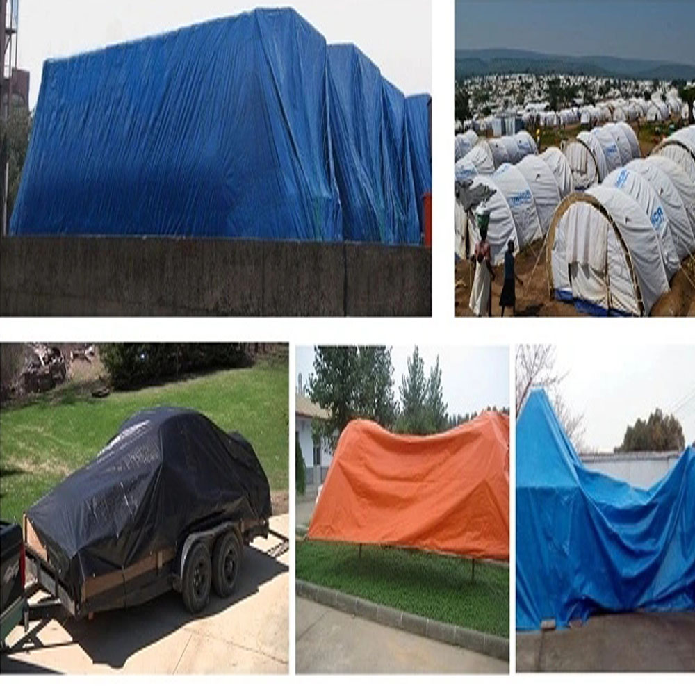 Middle Duty PETarpaulinOrange HDPE Cover Sheet