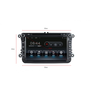 Factory source for Audi Gps Navigation Android 8'' VW audio player support SWC supply to Montserrat Supplier
