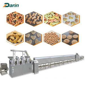Dog chewing biscuit food auto making machinery