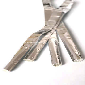 Aluminum foil glass fiber self-winding tube