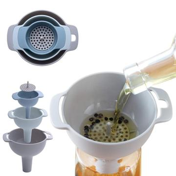 Kitchen funnels set canning wide mouth