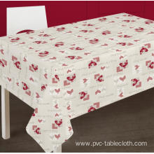 Pvc Printed fitted table covers Umbrella Hole Outdoors