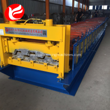 China Top 10 for Floor Decking Sheet Roll Forming Machine H75 940 zinc steel stocked metal floor deck machine supply to Rwanda Factory