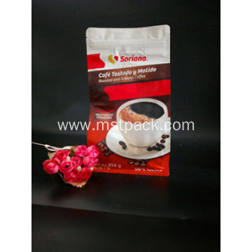 Designed Coffee Bag with Valve