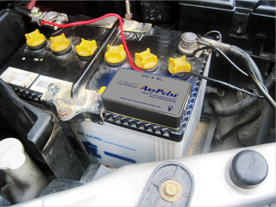 24V Trucks Start-up Battery life saver