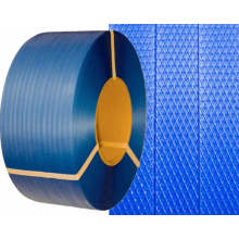 Discount Price Pet Film for Woven Pp Strap Blue Plastic Packing PP Strap for bunding export to Bulgaria Importers