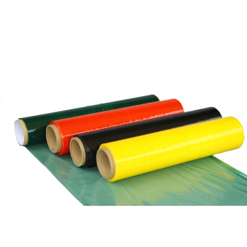 Colorful LLDPE pallet and carton stretch film