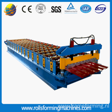 Steel Roof Trapezoid Panel Roll Forming Machine
