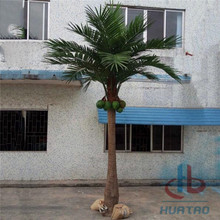 Flame Resistant Artificial Coconut Palm Tree
