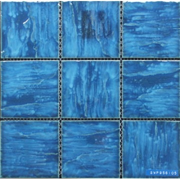 95x95mm Chip Size Swimming Pool Porcelain Mosaic
