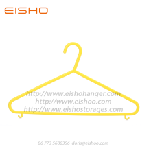 China Gold Supplier for for Plastic Clothes Hanger,Plastic Garment Hanger,Pp Plastic Hangers For Clothes Manufacturer in China EISHO Durable Simple Plastic Clothes Hanger supply to United States Factories