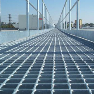 Metal Grid Plate Galvanized Steel Grating Walkway