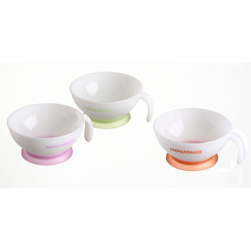 Plastic Baby Dinner Ware Feeding Bowl M