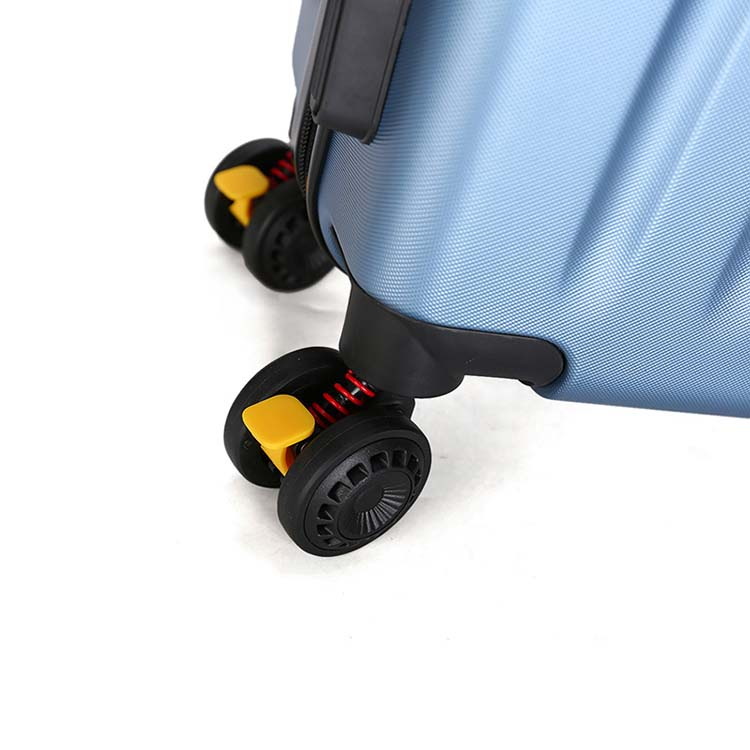 ABS carry-on plastic airport trolley luggage 8