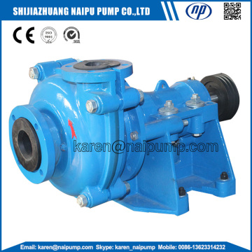 Chemical Medium Processing Rubber Lined Slurry Pumps